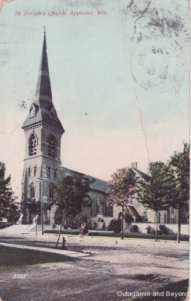 ca. 1907 ~ St. Joseph's Church, Appleton, Wis.
