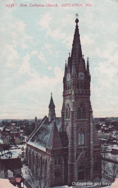 ca. 1911 ~ 2338--Zion Lutheran Church, Appleton, Wis.