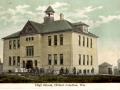 ca. 1909 ~ High School, Hilbert Junction, Wis.