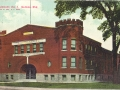 ca. 1908 ~ New Armory, Co. I, Neenah, Wis.