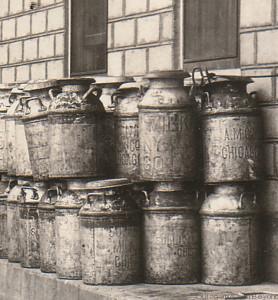 1926ca - Milk Cans