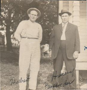 Hubert and Henry, ca 1930