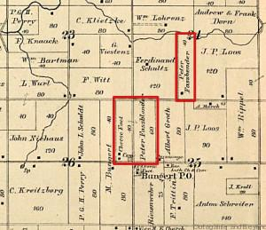 1889 Plat Section