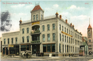Neenah_Kasson-Hotel_1906_Postcard