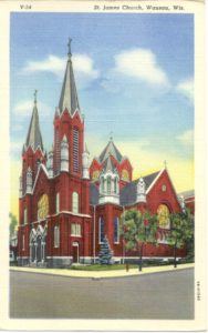 Wausau_St-James_Postcard