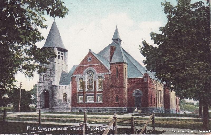 ca. 1911 ~ First Congregational Church, Appleton, Wis.