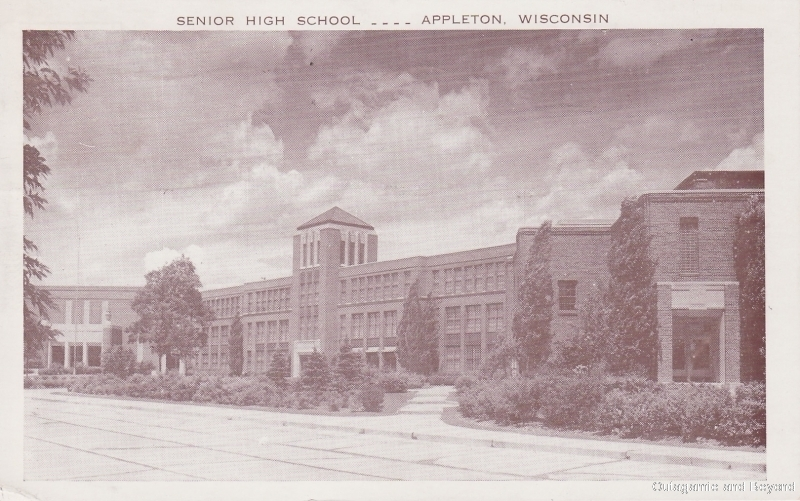 ca. 1948 ~ Senior High School--Appleton, Wisconsin