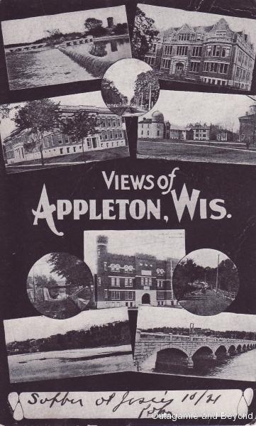 ca. 1907 ~ Views of Appleton, Wis.