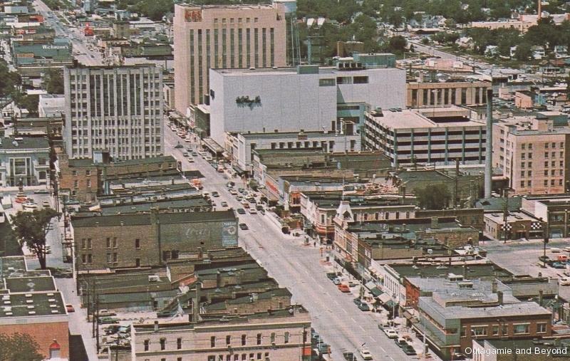 ca. 1970 ~ Downtown Appleton, Appleton, Wisconsin