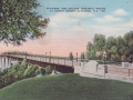 ca. 1941 ~ Soldiers' and Sailors' Memorial Bridge, at Cherry Street, Appleton, Wis. --38