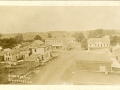 ca. 1910 ~ Bird's Eye View Stockbridge, Wis