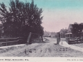 ca. 1910 ~ Mill Street Bridge, Hortonville, Wis.